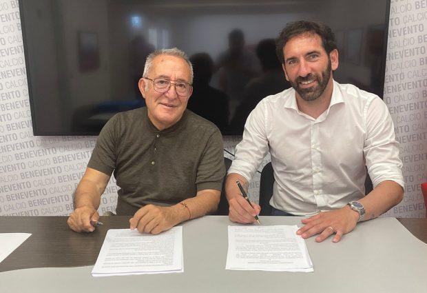 Benevento, Caserta è ufficiale