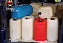 Serino, sorpresi con 400 litri di gasolio miscelato con altre sostanze e schede carburante di dubbia provenienza: denunciati per ricettazione e allontanati con foglio di via obbligatorio