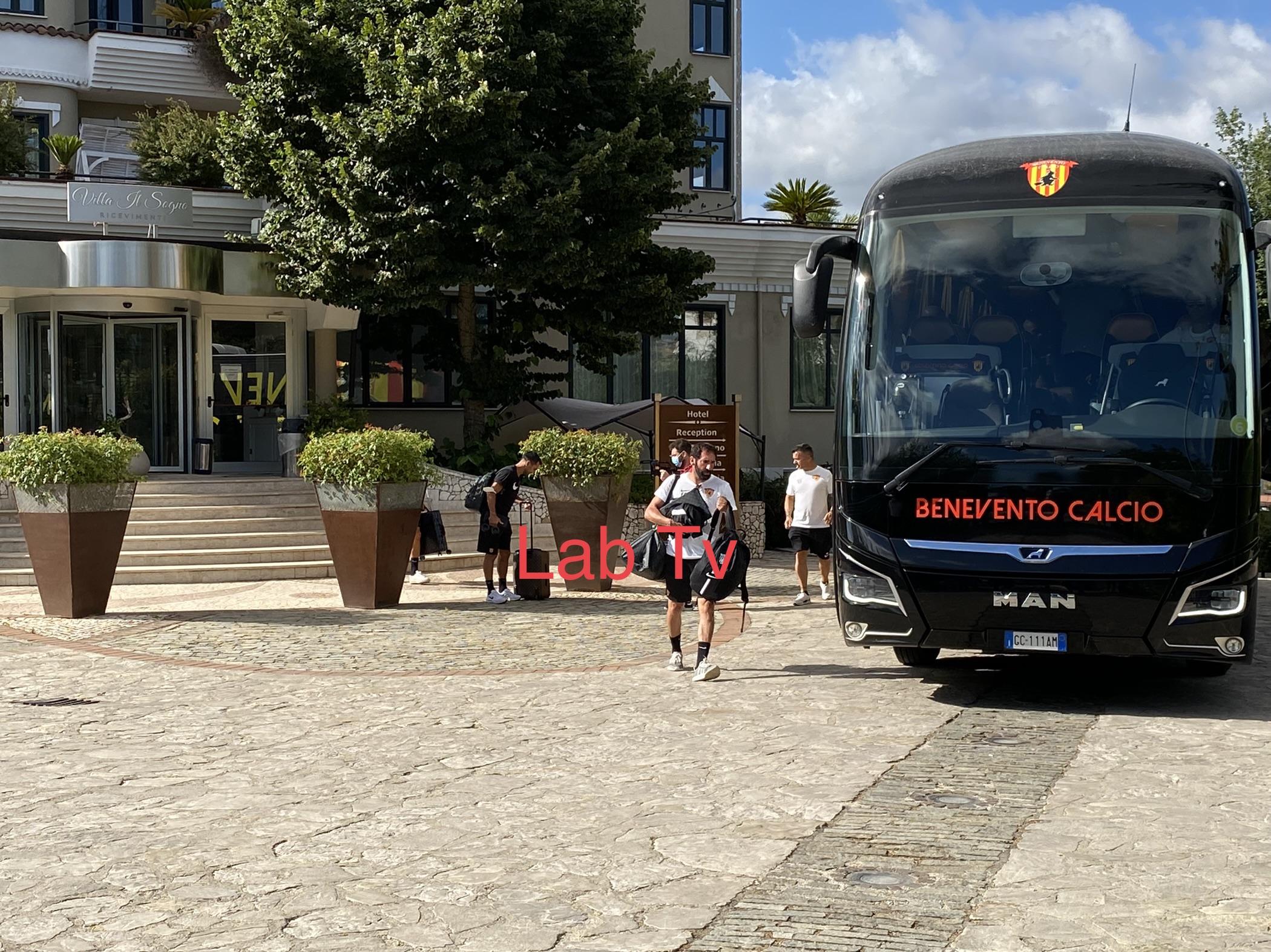Benevento, giallorossi in viaggio per Cascia