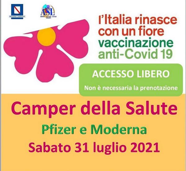 Vaccini Avellino|Open day Moderna aperto anche ai minori a partire dai 12 anni