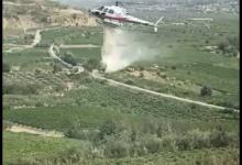 Incendi nel Sannio, bruciano uliveti e boschi a San Lorenzo Maggiore e Durazzano