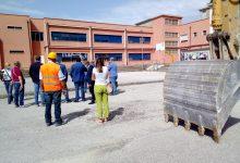 """Airola, ampliamento scuola """"A. Lombardi"""", posata la prima pietra"""