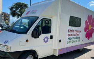 Avellino, Vaccini: continua il tour dei Camper della Salute