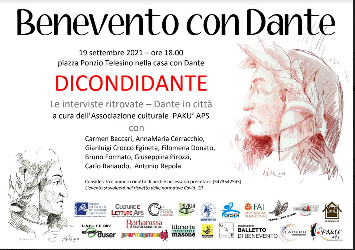 Benevento con Dante, nuovi appuntamenti in citta'
