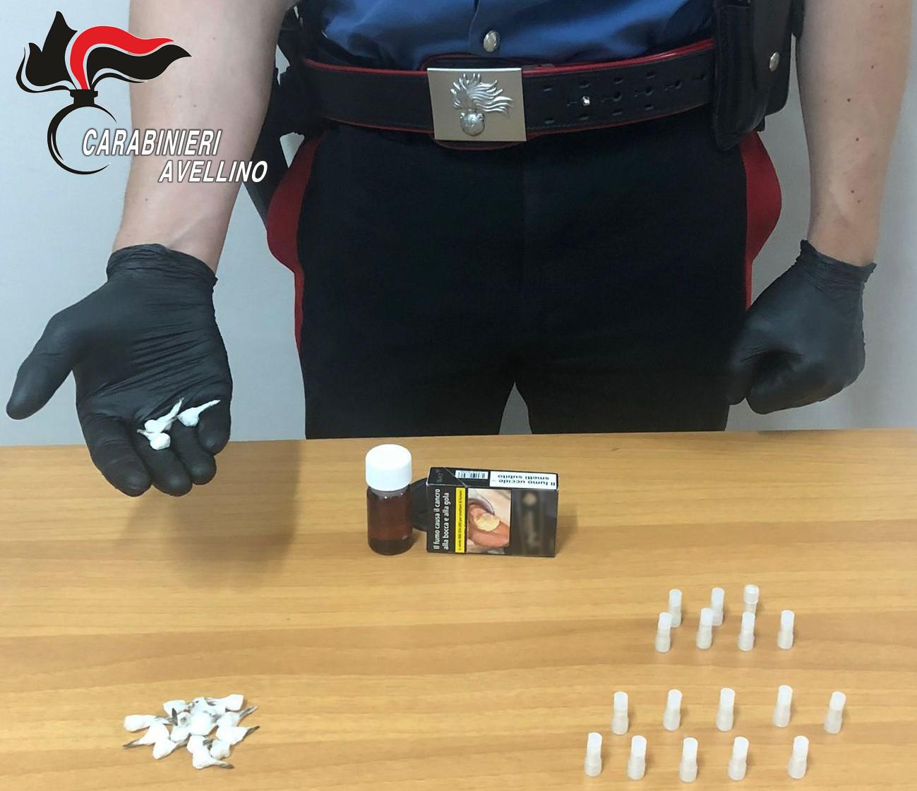 Lioni| Trovato in possesso di eroina, crack e metadone: 27enne ai domiciliari