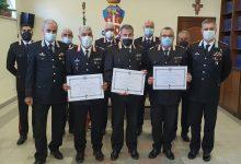 Avellino  Carabinieri, Medaglia Mauriziana al Merito per i luogotenenti carica speciale Fresa, Finale e Moschella