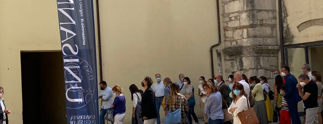 Unisannio: Giornate europee del Patrimonio: 124 visitatori al Complesso Sant'Agostino