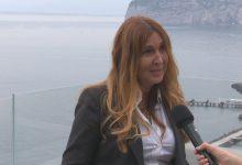 Patty L'Abbate al Premio Penisola Sorrentina: arte,turismo e transizione ecologica