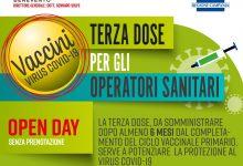 Asl Benevento, open day terza dose per gli operatori sanitari