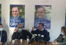 Clemente Mastella commenta la sua rielezione in conferenza stampa