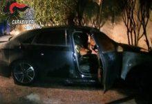 Auto e portone in fiamme nella notte tra Solofra e Montoro, indagini in corso dei carabinieri
