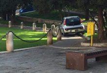 Benevento/Auto nell'area dell'Arco di Traiano, denunciato 89enne