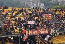 Benevento, il ricordo della Curva al tifosissimo Gerardo De Figlio